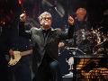 "Elton John počas otvárania jeho novej show ""The Million Dollar Piano"" v Las Vegas"