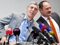 Predseda strany Most-Híd, Béla Bugár a podpredseda strany, Zsolt Simon
