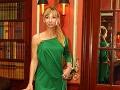 Doktorka Alexandra Novotná prišla v zaujímavých šatách.