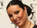 Bývalá miss Ivana Christová svoju bezchybnú vizáž podčiarkla zaujímavými šperkami.