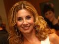 Moderátorka Alena Heribanová sa hlbokých dekoltov nebojí.