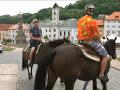 Marián Miezga sa spočiatku usmieval, jazdy na koni sa nebál.
