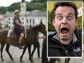 Marián Miezga prežil nepríjemné chvíle, keď ho zhodil kôň.