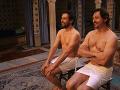 Juraj Kemka a Lukáš Latinák si boli obzrieť kúpele.