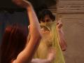 Lukáš Latinák si zmyselný tanec užíval.