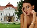 Martina Schindlerová sa vydávala v tomášovskom kaštieli.