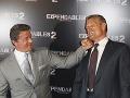 Akční veteráni na premiére: Sylvester Stallone rozdával úsmevy aj päste!