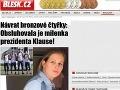 Česi sa opäť smejú z prezidenta: Klausova milenka obskakovala olympionikov!