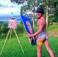 Tim Patch, ktorý maľuje penisom, chce získať prestížnu umeleckú cenu