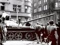 Okupácia Československa vojskami Varšavskej zmluvy z 21. augusta 1968.