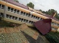 Hromové peklo na Záhorí: Základnej škole v Sekuliach strhlo novú strechu!