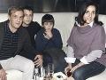 Roman Luknár s Lolou a ich dvomi synmi
