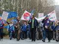 Najväčšie štrajky na Slovensku od roku 1993