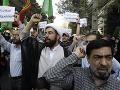 Iránci a Iračania spoločne pochodovali na podporu Palestínčanov: Odmietli Trumpov plán