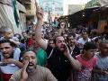 Protestujúci moslimovia: Smrť Francúzsku i USA!