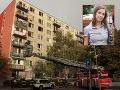 Požiar v Ružinove: Po Dáši (26), ktorá vyskočila z okna, bojuje o život aj sused!