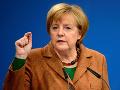 Merkelová vylučuje nekontrolovateľný vývoj v eurozóne