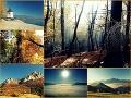 Jesenné prechádzky lesom a kopcami na vašich fotkách!