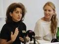 Raditeľka Rómskeho inštitútu Klára Orgovánová a Jarmila Lajčáková z Centra pre výskum etnicity a kultúry