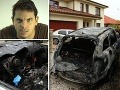 FOTO Danglovi podpálila auto MAFIA: Zabávačova manželka v šoku... Mala strach!