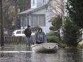 Sandy ochromila dodávky elektriny, bez prúdu je 130 tisíc obyvateľov!