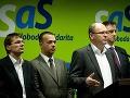 Podľa SaS je poburujúce, že exprezident Kováč sa má ospravedlniť Lexovi