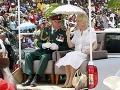 Princ Charles s manželkou Camillou na návšteve Papuy-Novej Guiney