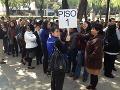 Evakuácia zamestnancov kancelárií a firiem v metropole Mexiko