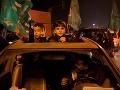Oslava prímeria Palestíny s Izraelom