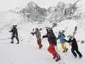 Lyžovčka za euro tento rok už nebude, Tatrám chýba sneh