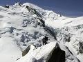 Osudný výstup na Mont Blanc: V ťažkom teréne zomrel muž (†30) a žena (†27) z Česka