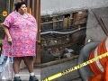 Tučná Newyorčanka (32) sa prepadla do zeme, zachránilo ju jej 180 kg!