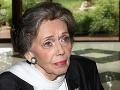 Pochovali herečku Jiráskovú (†81): Lucie Bílá jej nechala odkaz
