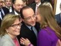 Flašíková-Beňová sa vrhla na francúzskeho prezidenta: Čo povedal na pusu Fedor!