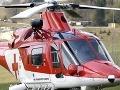 Letecká akcia záchranárov: Robotník na stavenisku spadol z výšky!
