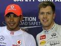Lewis Hamilton či Sebastian Vettel: Ktorý majster sveta je rýchlejší?