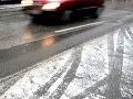 Dávajte si pozor, meteorológovia varujú pred poľadovicou