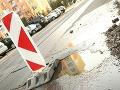 Katastrofálne cesty v Bratislave: Od nového roka zaznamenali 39 dopravných nehôd!
