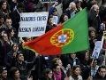 Masové protesty v Portugalsku