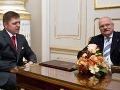 Postavenie prezidenta SR je podľa ústavy slabé, tvrdí Fico
