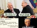 Gašparovič a Klaus sú ľuďom na smiech: Ocenenia si vymieňajú ako céčka!