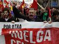 Masívne demonštrácie v Španielsku