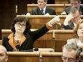 Žitňanská: Smer degraduje postavenie parlamentu