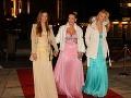 Jojkárska moderátorka Erika Barkolová dorazila s dcérami Alexandrou a Patríciou (vpravo).
