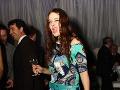 Bývalá superstaristka Natália Hatalová sa na párty výborne bavila.