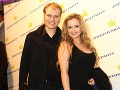 Speváčka Lenka LeRa Salmanová a jej manžel Alex si taktiež vyšli do spoločnosti.