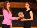 Nela Pocisková si cenu prevzala v divadle, kde skúšala predstavenie Rómeo a Júlia.