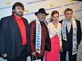 Už tradične sa Jozefovskej párty zúčastnil aj Štefan Gašparovič - autor Jozefovského cuvee lásky a súčasný poslanec NR SR s manželkou.