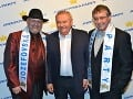 Jozefov prišiel pozdraviť aj priateľ Jožka Oklamčáka - šéf sekretariátu prezidenta republiky SR - Marián Parkanyi.