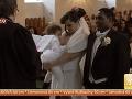 Katarína dcérku kŕmila aj pri svadobnom obrade.